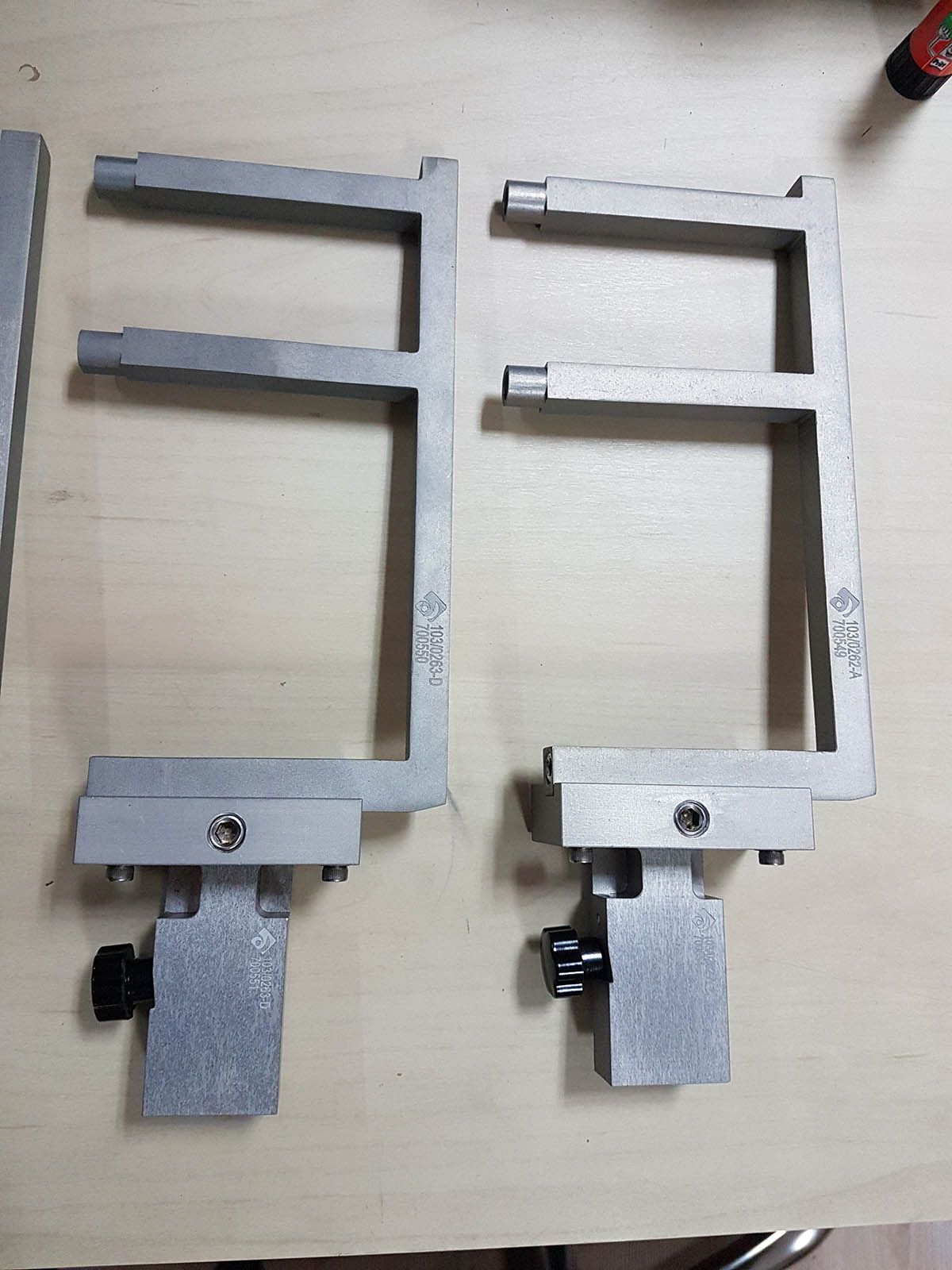 Ulhman Cartoner Machine Vacuum Handles Parts
