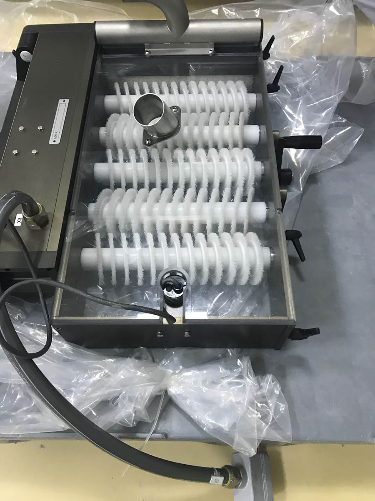 Blister Machine Brush Feeding System